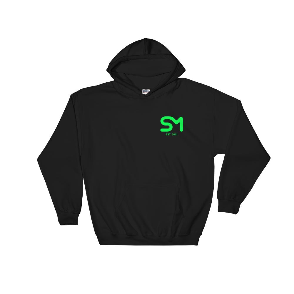 Image of SM Hoodie - Neon Green