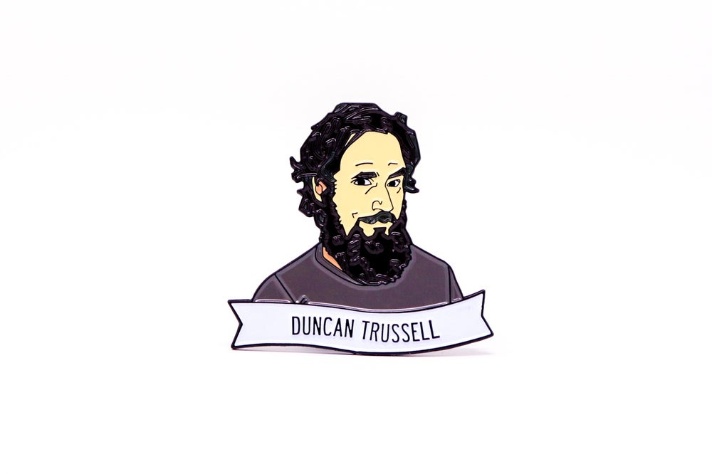 Image of Duncan Trussell Enamel Pin