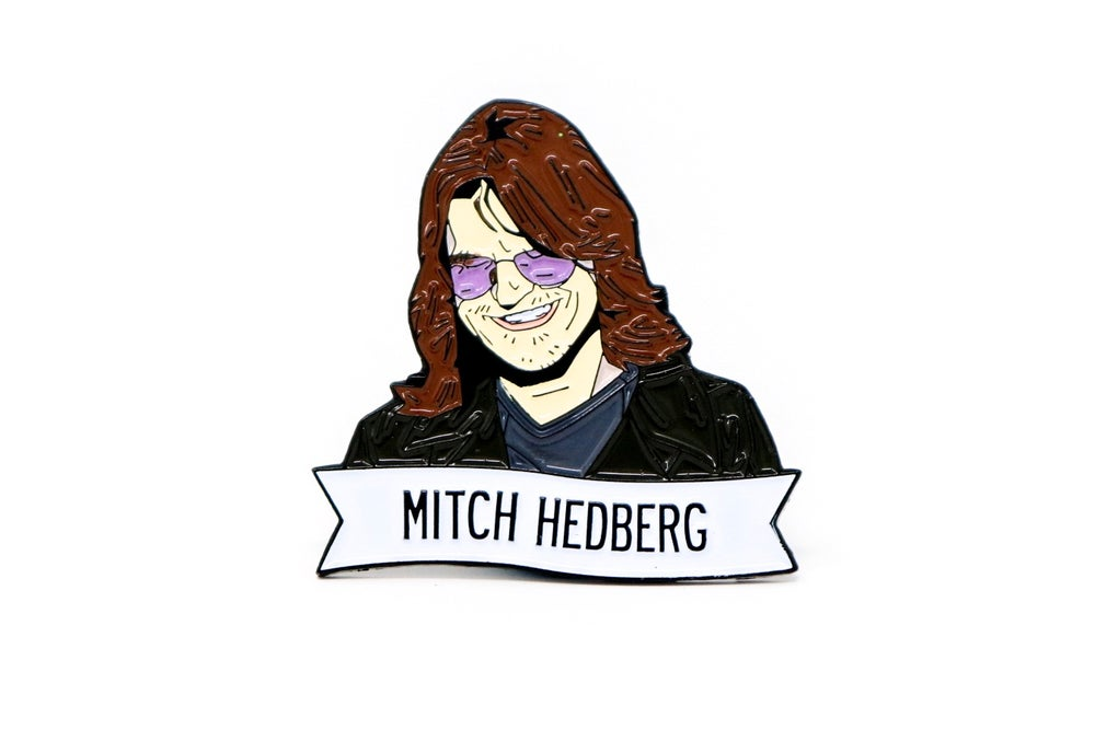 Image of Mitch Hedberg Enamel Pin