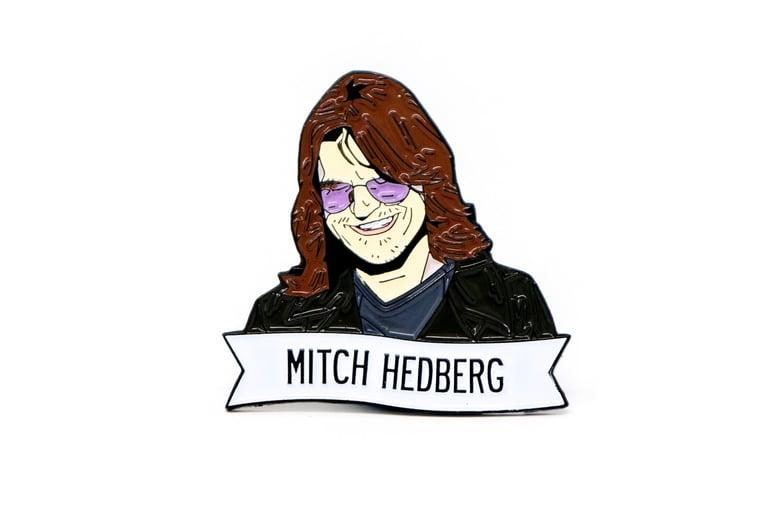 Image of Mitch Hedberg Enamel Pin