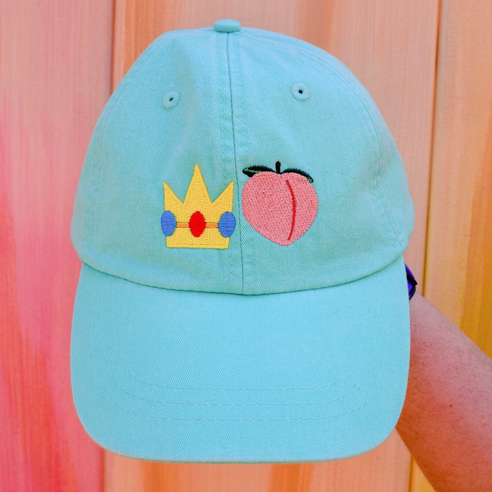 Image of Princess Peach Dad Cap