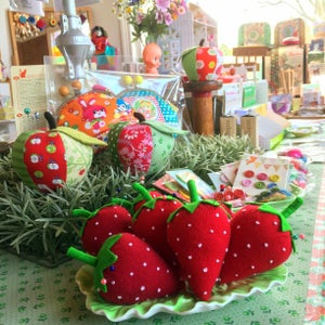 Image of Strawberry pincushion