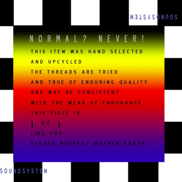 Image of Never Normal Soundsystem Collection Look 01