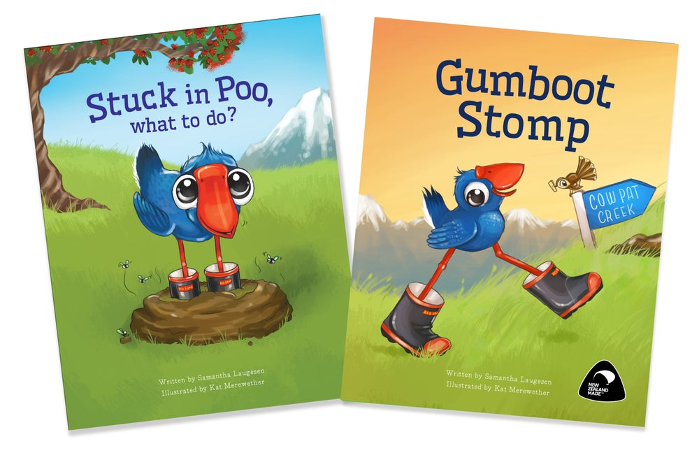 Image of Luke the Pook Book Combo