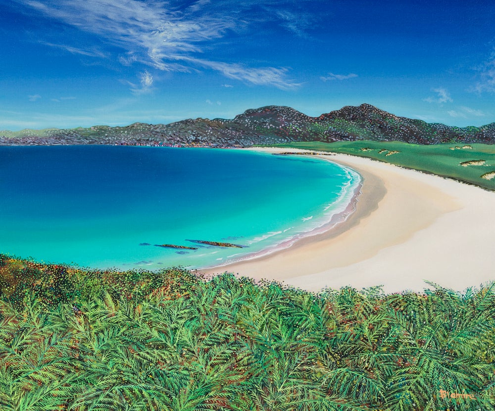 Image of Kiloran bay, Colonsay ALL sizes prints