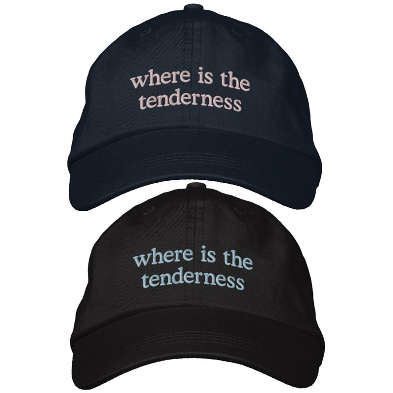 Image of Where Is The Tenderness embroidered hat