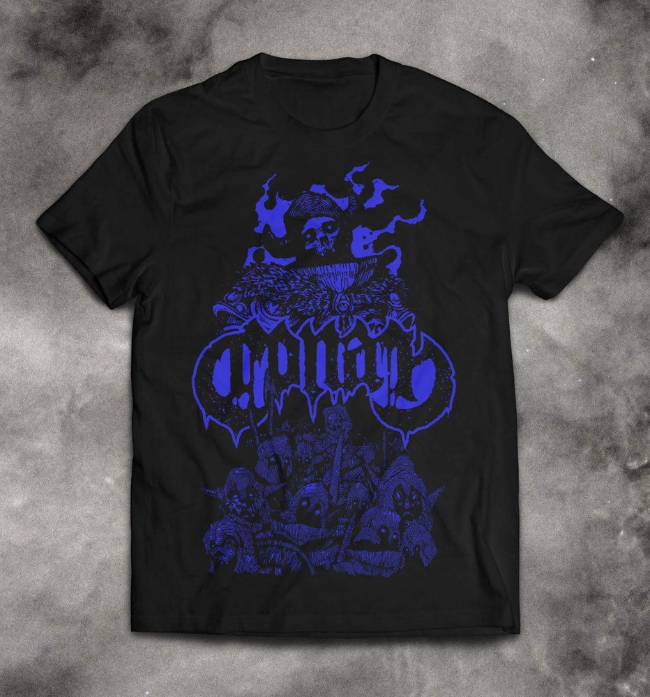 Image of EXISTENTIAL VOID GUARDIAN SHIRT - BLUE