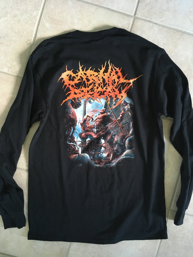 Image of Longsleeve - When Push Comes To Shove