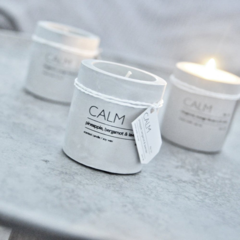 Image of CONCRETE CANDLE L