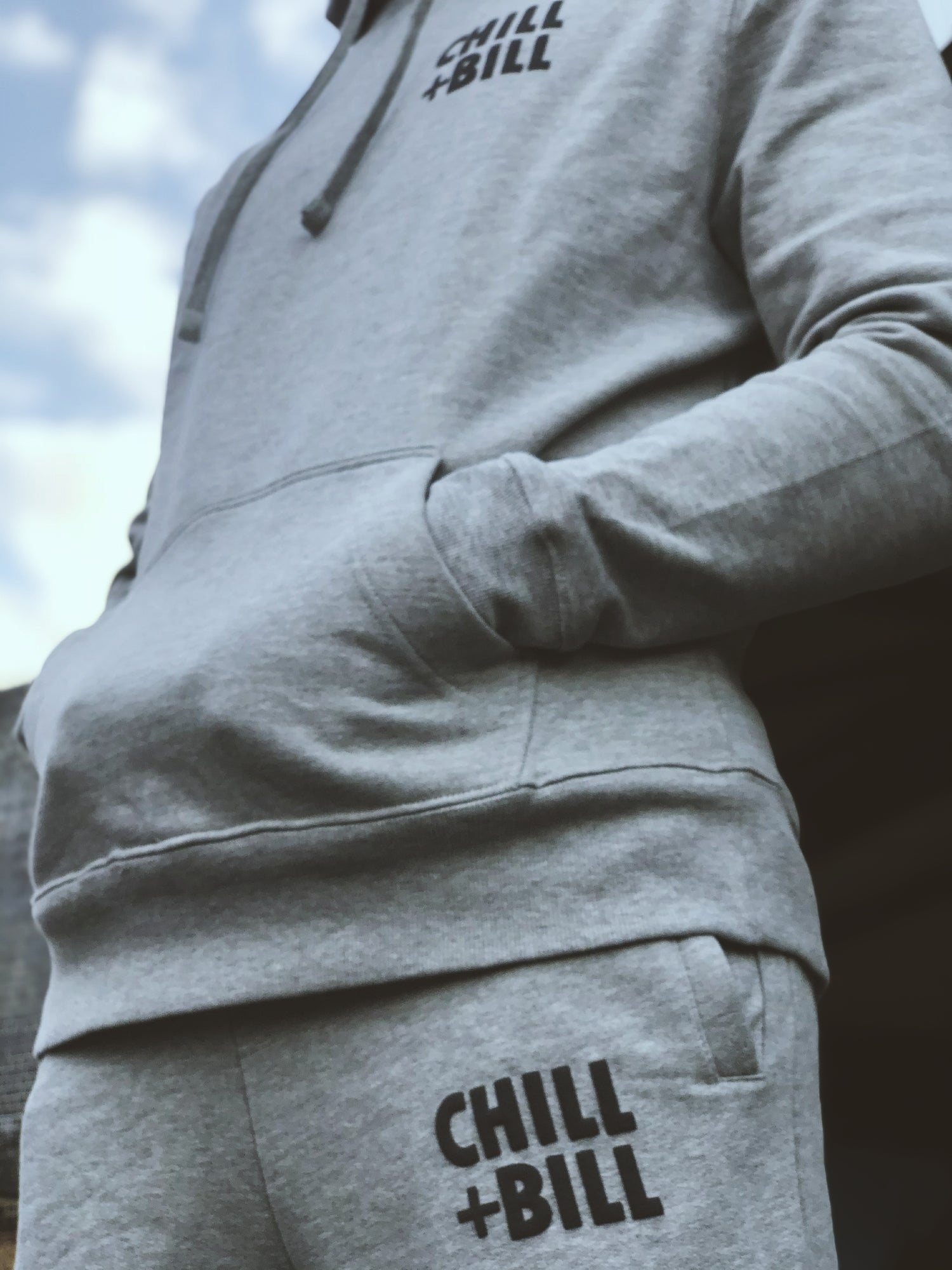 Image of Chill+Bill Joggers in Tracksuit Grey