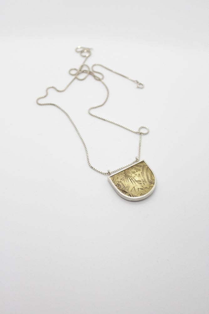 Image of EMBOSSED BRASS PENDANTS