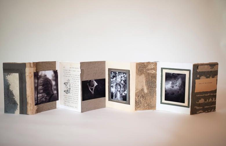 "Image of ""Song of the Cicadas"" Handmade artist book"