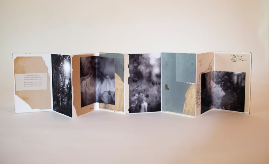 "Image of ""Fly Away"" Handmade Artist Book"