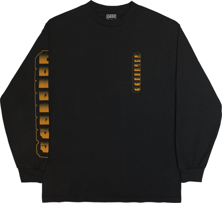 Image of BLOCK TEXT L/S SHIRT
