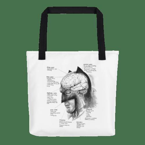 Image of Neuroscience of Batman - Tote Bag