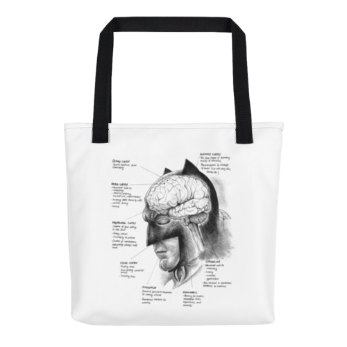 Image of Neuroscience of Batman - Tote Bag