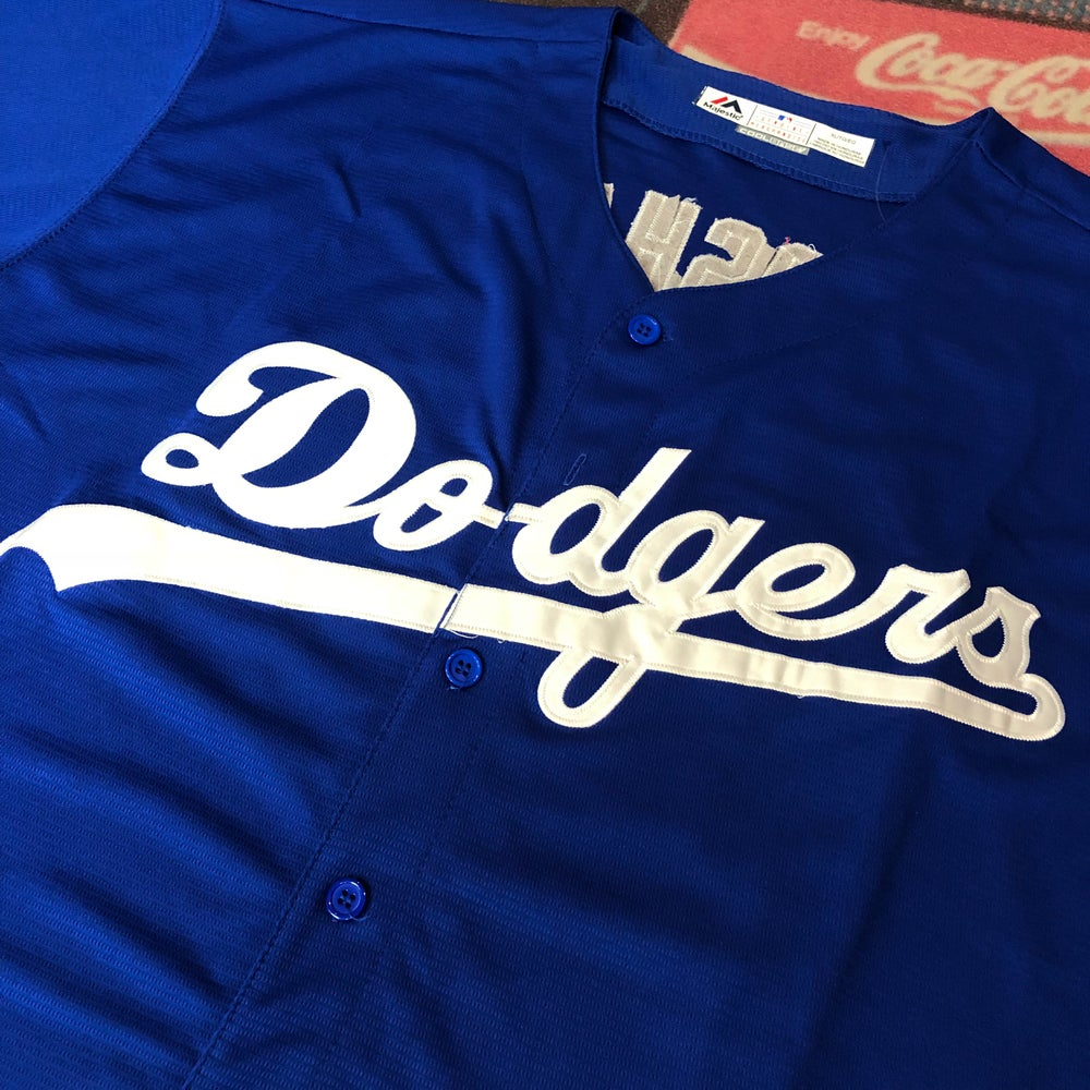 Image of Majestic LA Dodgers Kershaw Jersey Size XL