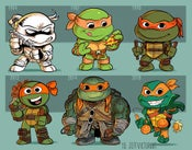 Image of Evolution of Michelangelo