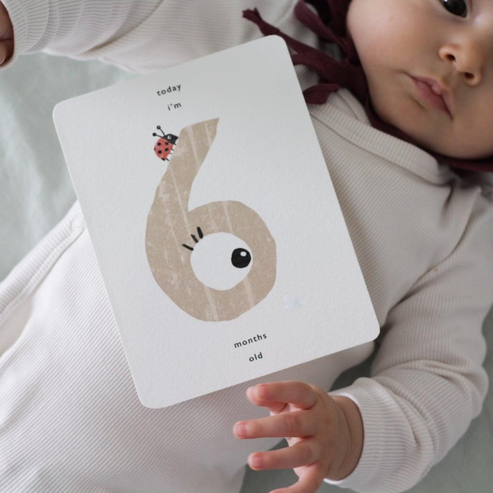 Image of MILESTONES BABY CARDS
