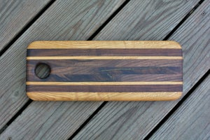 Image of Walnut & Oak Cutting/Charcuterie Board