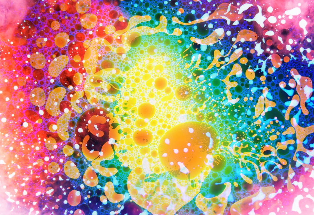 "Image of Rainbow Multiverse - 13"" x 19"" Premium Luster Print - Signed"