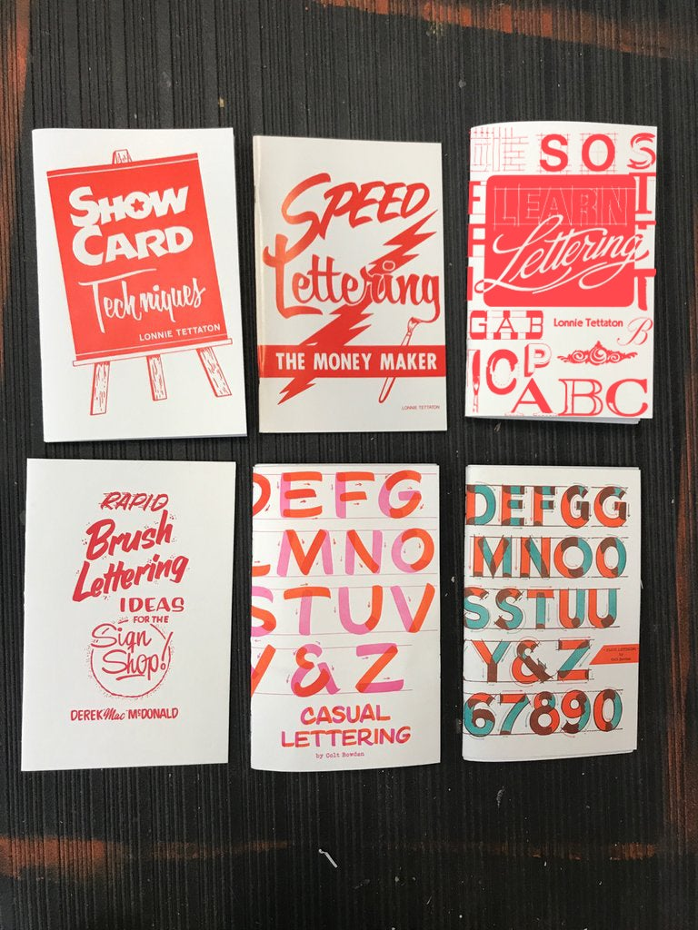 Image of Lettering 6 pack
