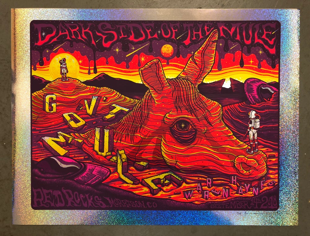 Image of Gov't Mule - Dark Side of the Mule - Red Rocks - Sept. 14th, 2018 - Sparkle Edition