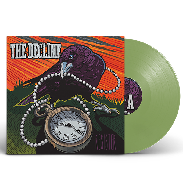 "Vinyl 12"" Album - Resister - Snot Green Vinyl"