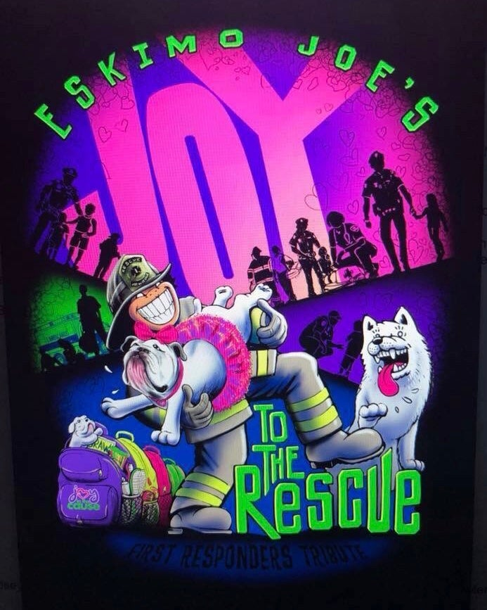 Image of Eskimo Joe's Joy To The Rescue T-Shirt