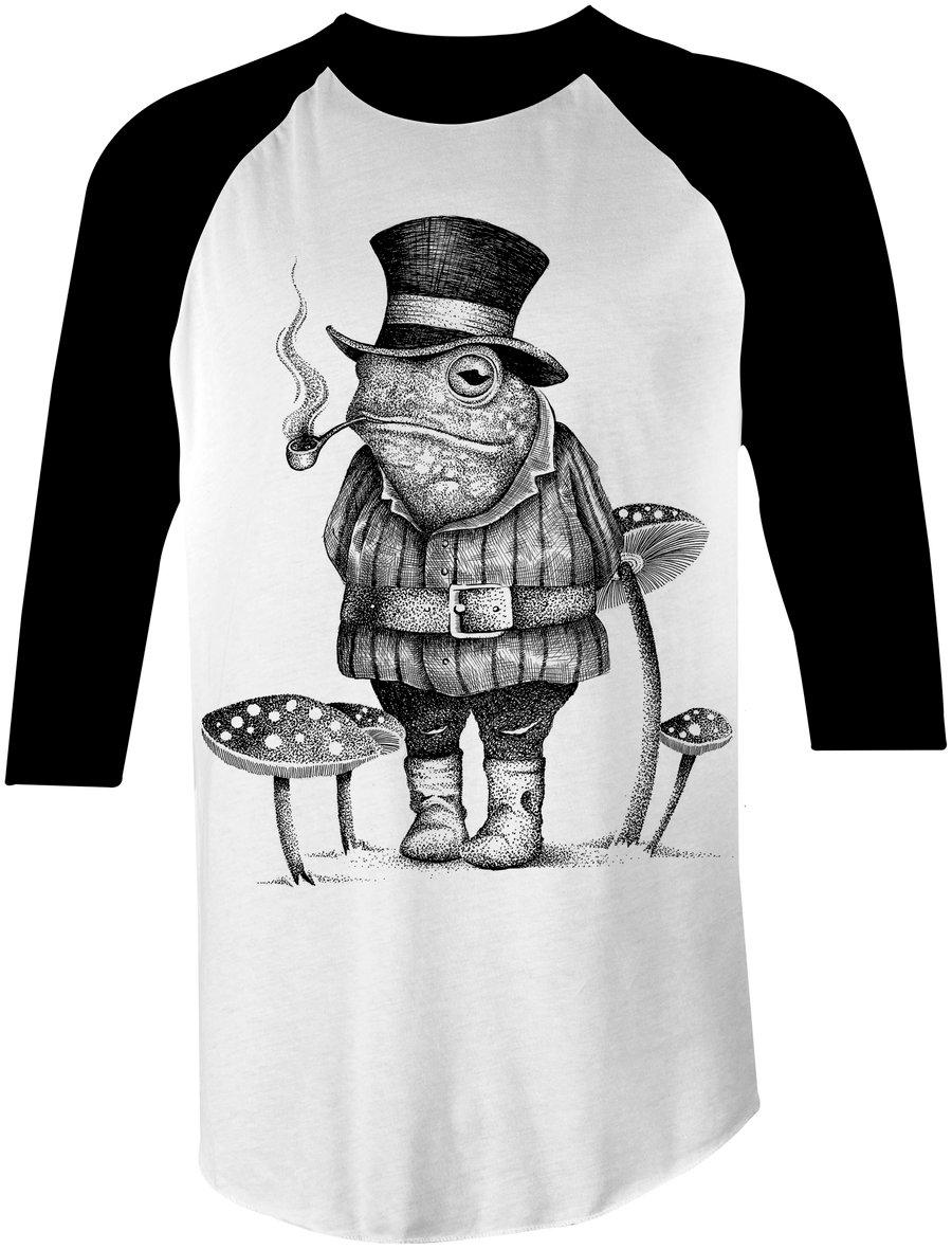 Image of Mister Frog Baseball Tee