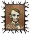 """""""Wood Lincoln"""" <br>RARE Limited Edition Print <br>by Mark Ryden"""