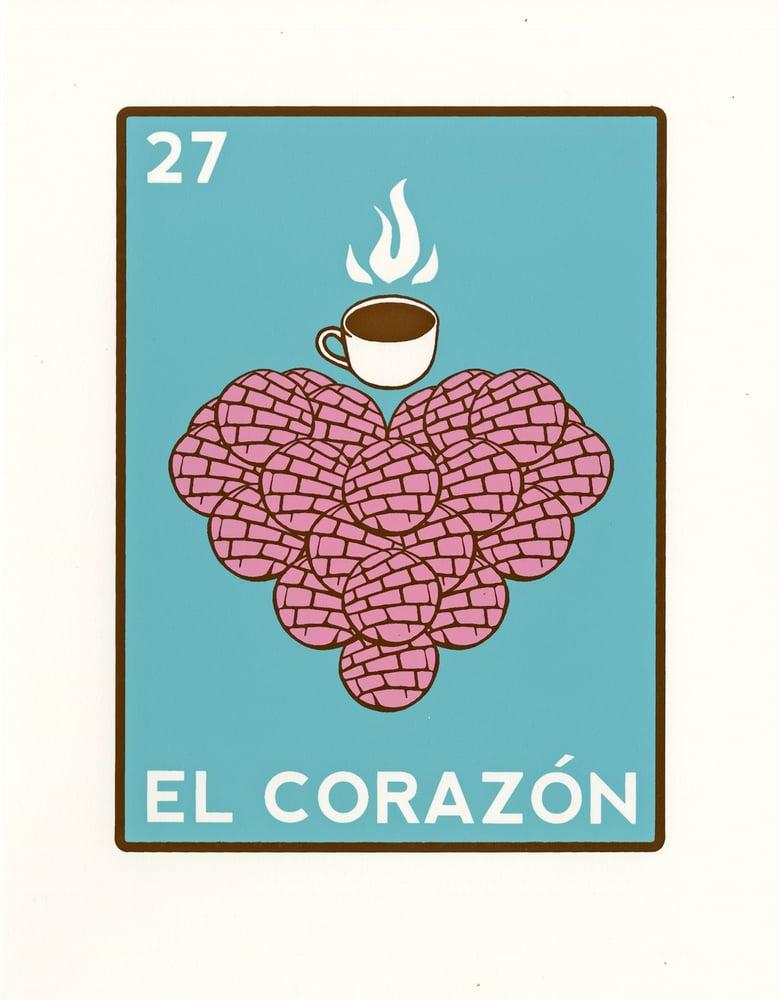 Image of El Corazon de Pan Dulce (Matte, 2017)