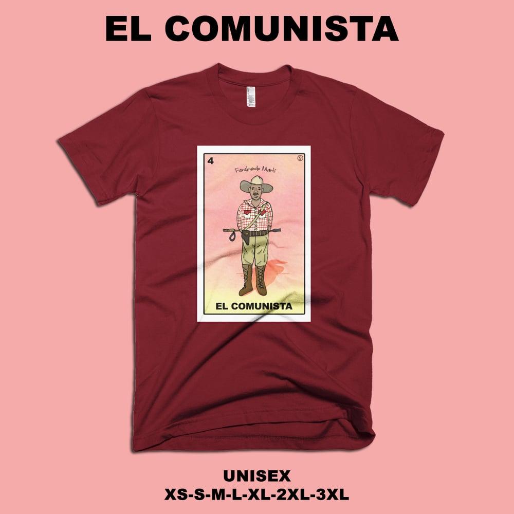 Image of Lotería Salvadoreña - 04 EL COMUNISTA