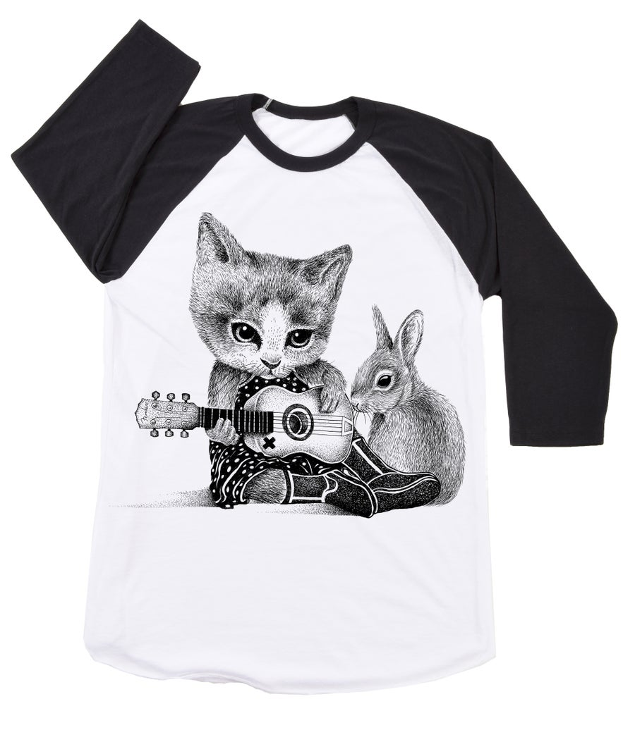 Image of Johnny Kat Basebal Tee
