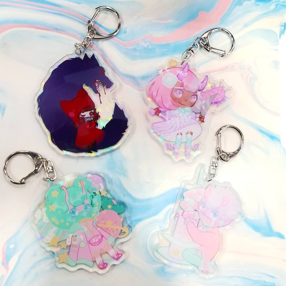 Image of OC Holo Charms
