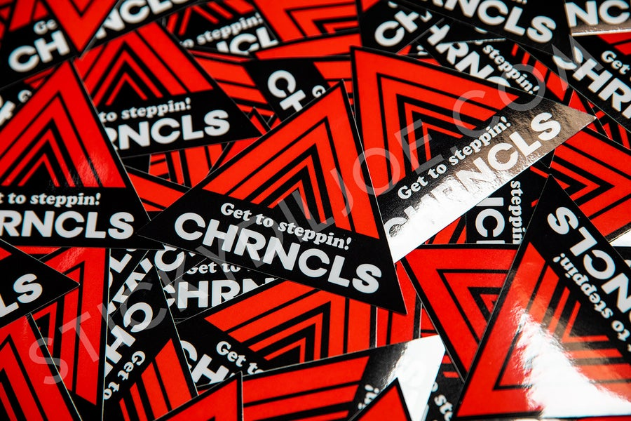 Image of THE CHRONICLES ADVAN TRIBUTE DECAL VER. 2
