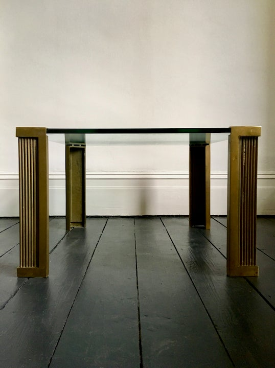 Image of Early Production T14 Table by Peter Ghyczy, 1970s