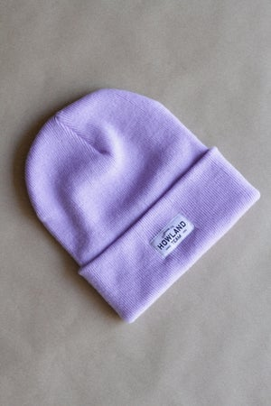 Image of LIGHT PURPLE BEANIE