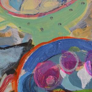 Image of Contemporary Still Life, 'Asparagus Season,' Poppy Ellis