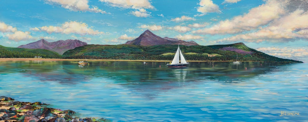 Image of Brodick bay, Arran ALL sizes print