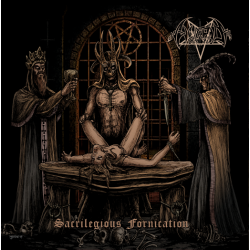 Image of Horrid - Sacrilegious Fornication CD