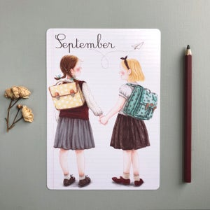 "Image of ""September"" large card"