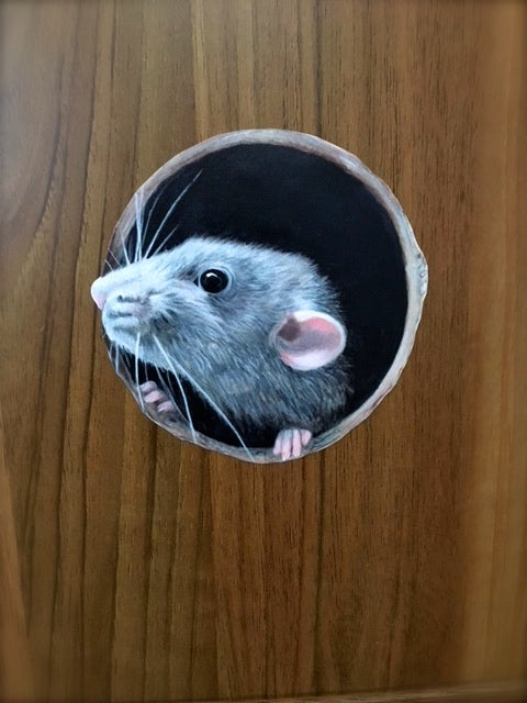 Image of Ruffalo Rat ~ Wall decal