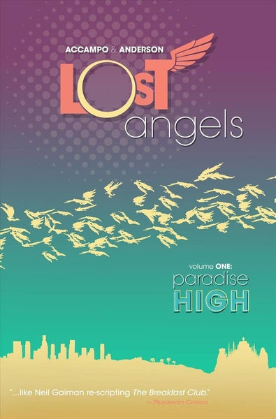 Image of Lost Angels-signed w/sketch