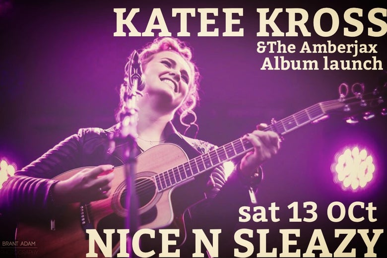 Image of KATEE KROSS ALBUM LAUNCH plus MICK HARGAN & TOMMY MCGUIRE OCTOBER 13th NICE N SLEAZY GLASGOW