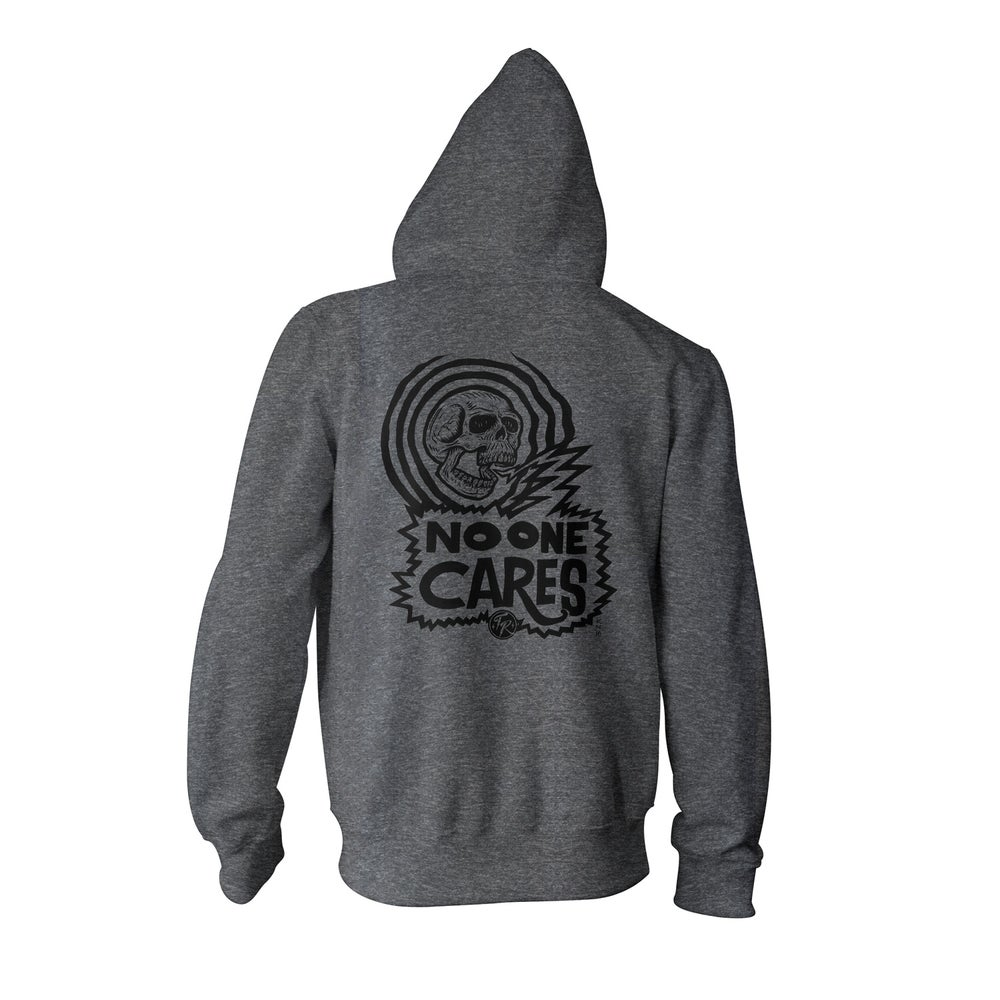 Image of No One Cares - Zip Hoodie