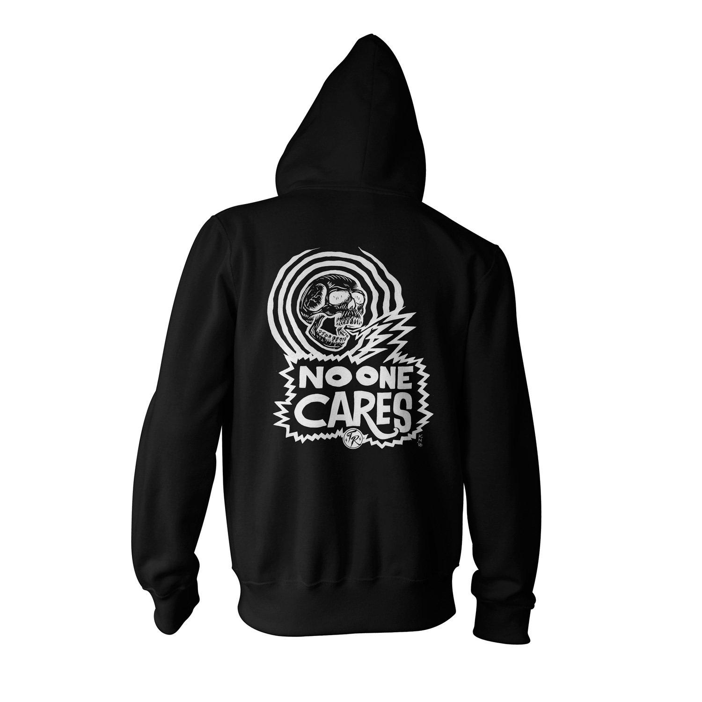 Image of No One Cares - Zip Hoodie