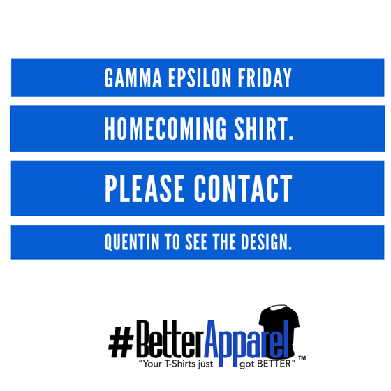 Image of GE Homecoming Friday Shirt