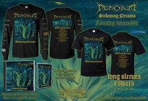 Image of NBR 008 Demored - Sickening Dreams  CD+ Shirt Bundle Preorder