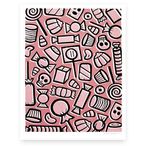 Image of Candy Screen Print